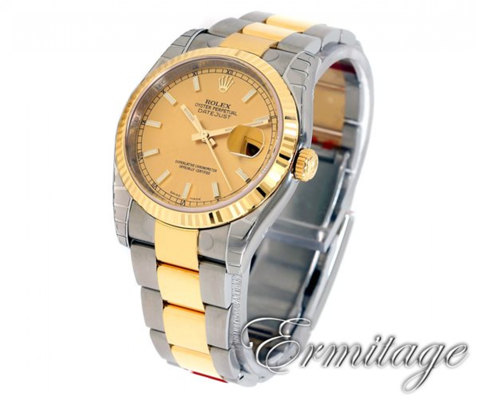Used Rolex Datejust 116233 Gold & Steel