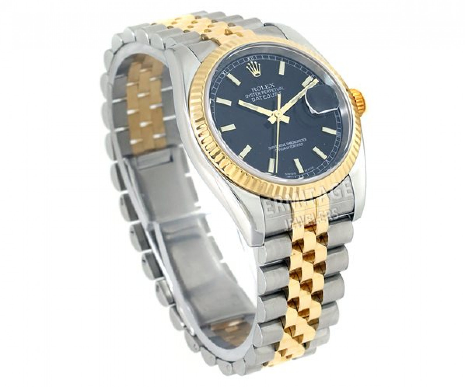 Pre-Owned Rolex Datejust 116233 Gold & Steel Year 2005