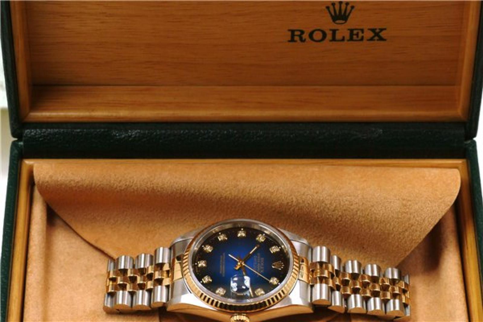 Black Diamond Dial Rolex Datejust 116233
