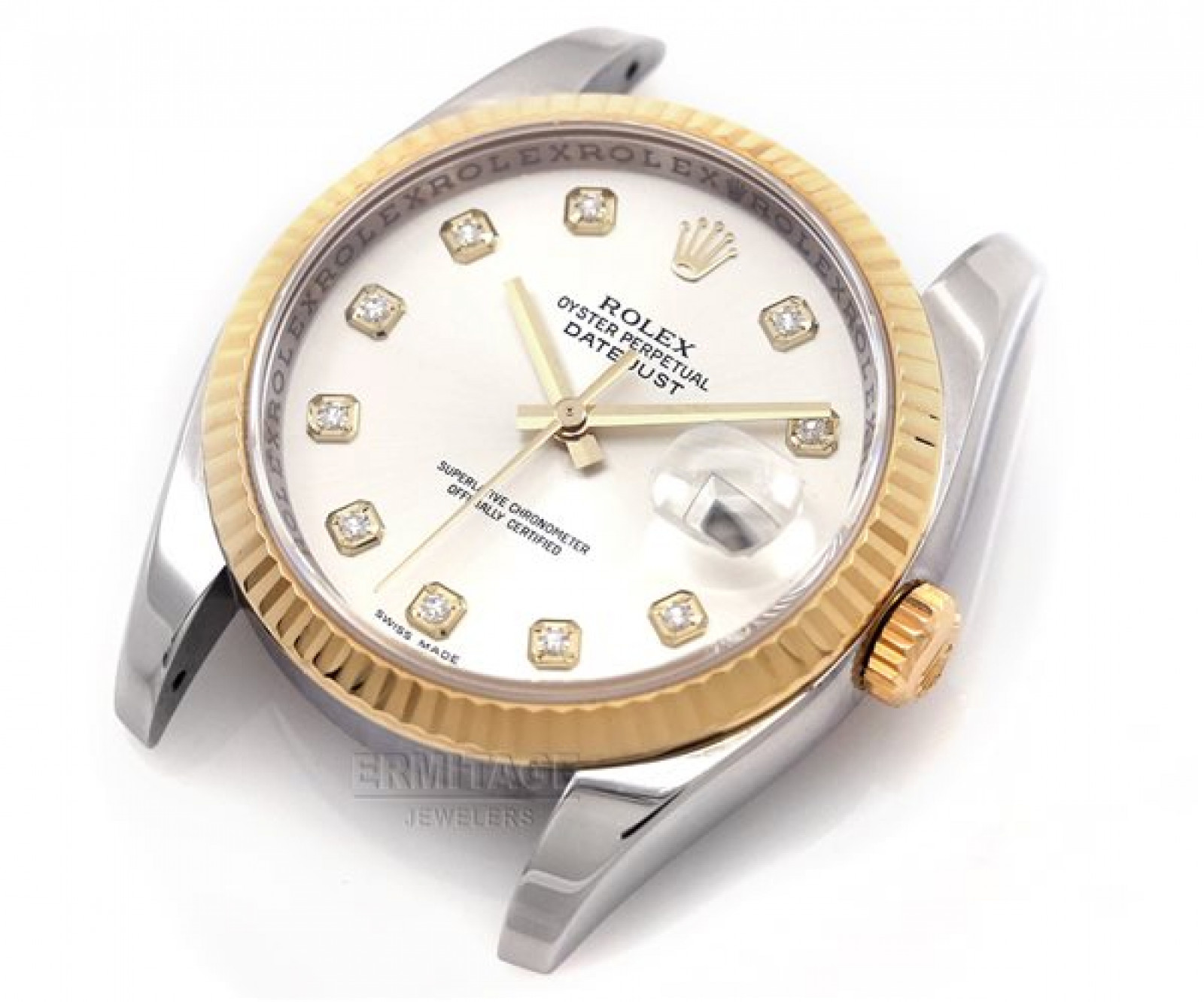 Yellow Gold & Steel Rolex Datejust 116233