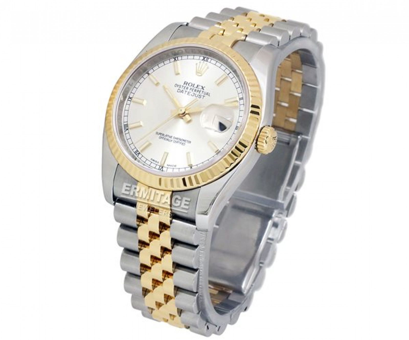 Pre-Owned Rolex Datejust 116233 Gold & Steel Year 2013