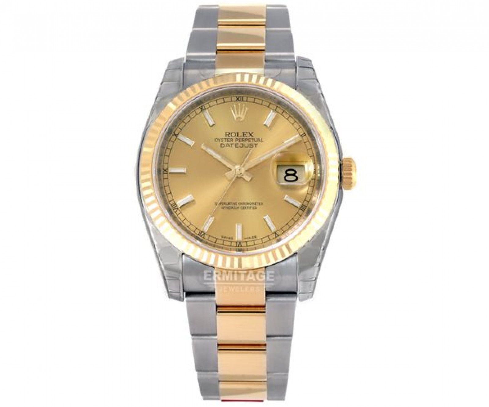 Pre-Owned Gold & Steel Rolex Datejust 116233