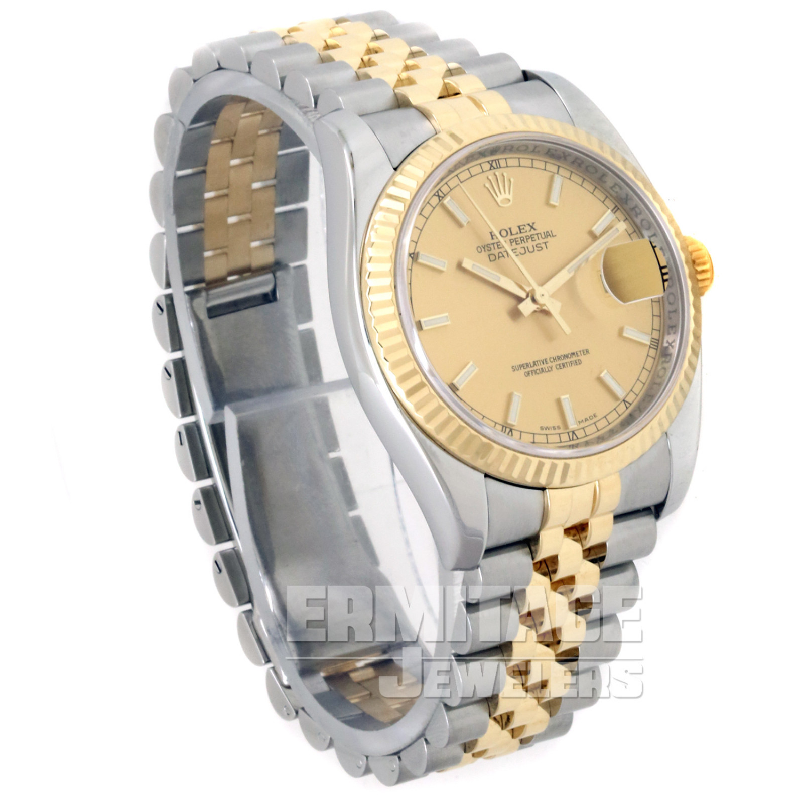 Rolex Datejust 116233 with Champagne Dial