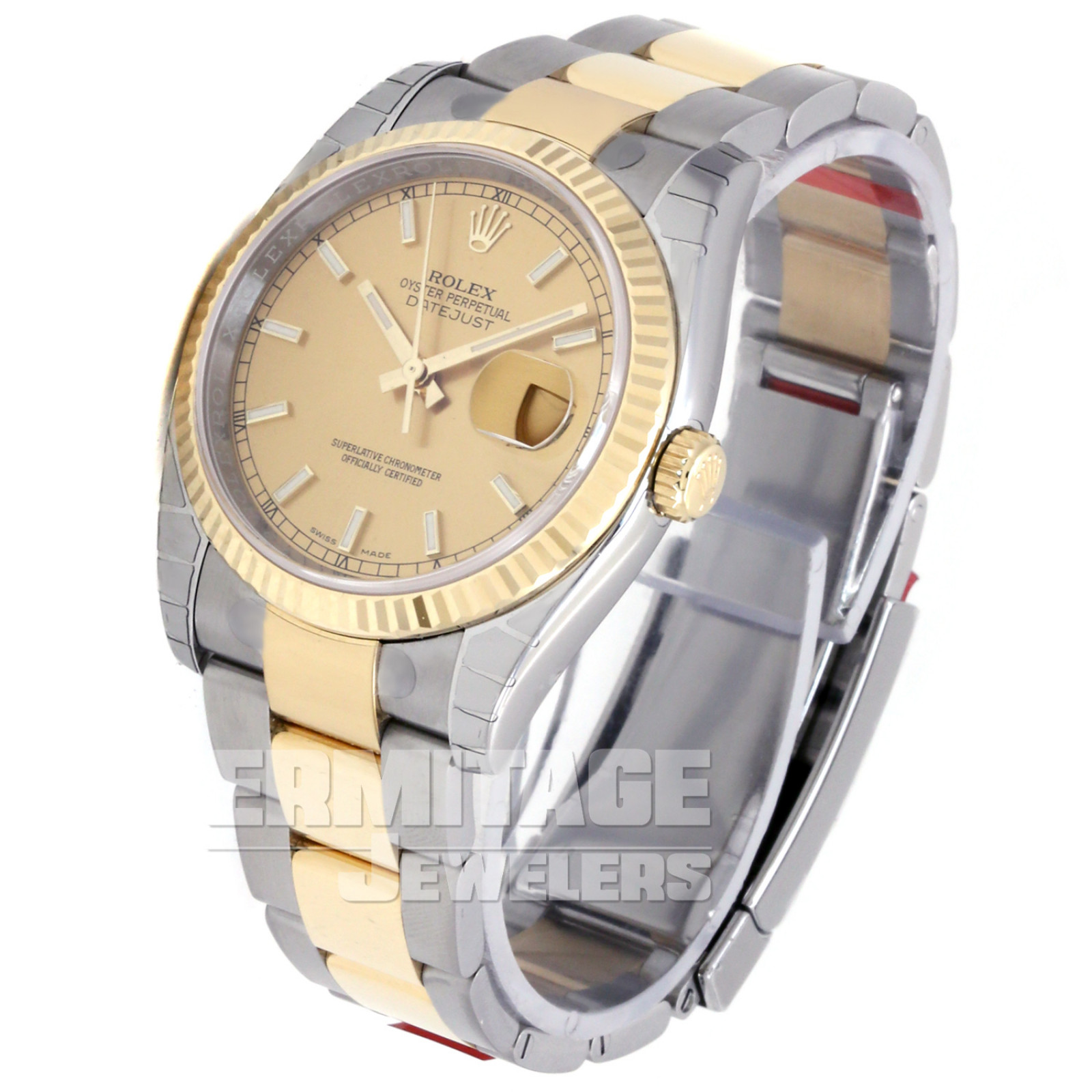 Classic Rolex Datejust 116233 with Champagne Dial