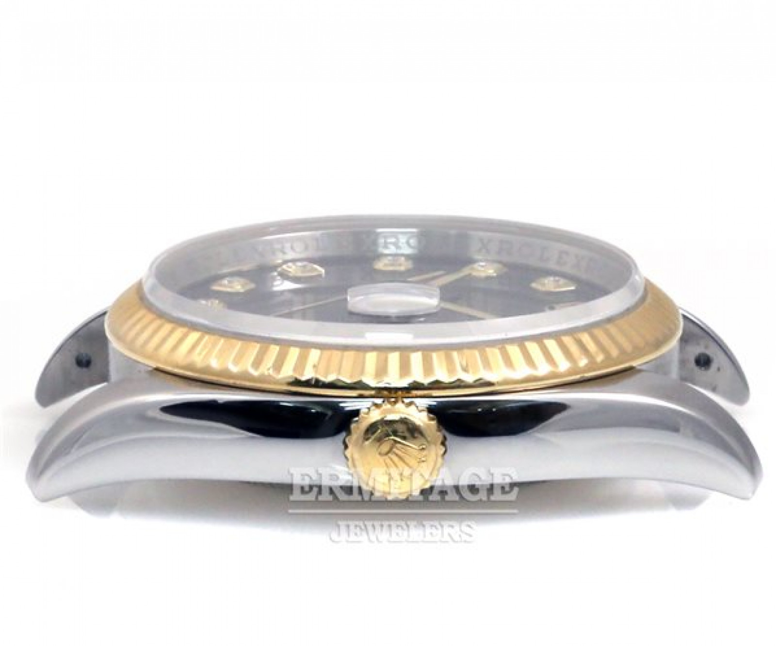 Diamond Rolex Datejust 116233 Gold & Steel