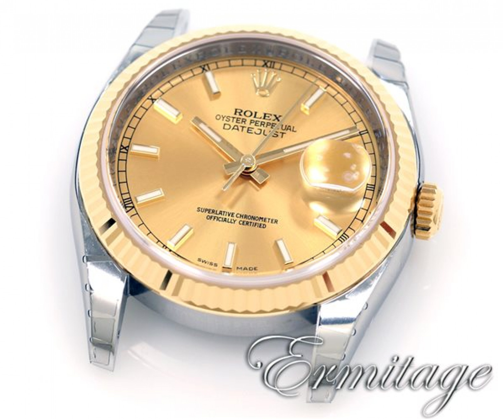 Rolex Datejust 116233 Gold & Steel Champagne