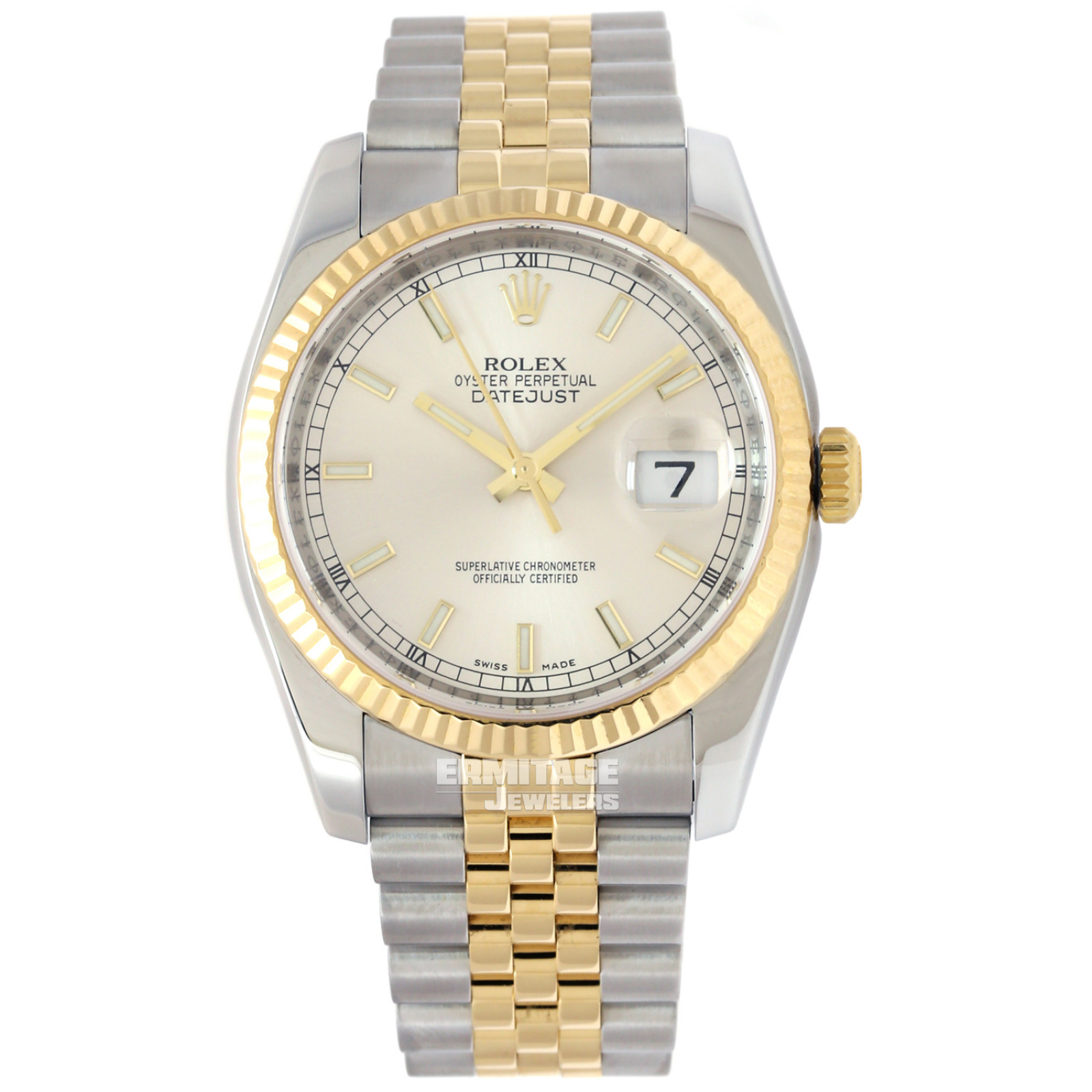Rolex Datejust 116233 with Silver Dial