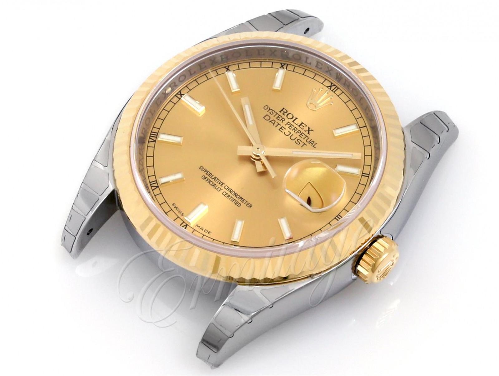 Unworn Rolex Datejust 116233 Gold & Steel