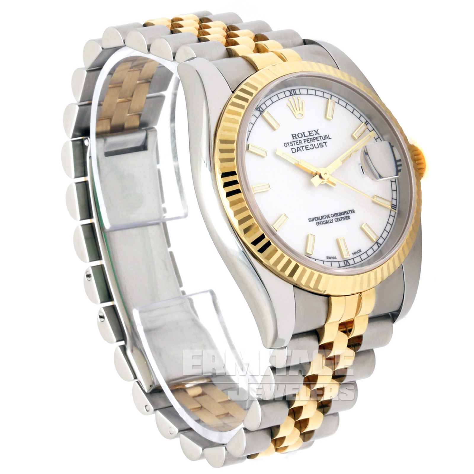 Sell Rolex Datejust 116233 with White Dial