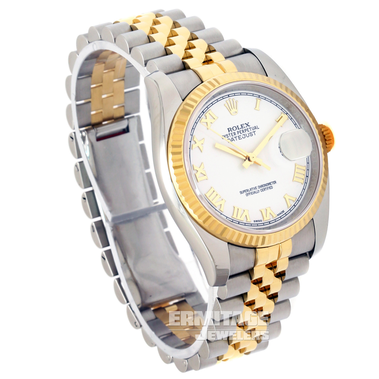 36 mm Rolex Datejust 116233 Gold & Steel on Oyster Pre-Owned