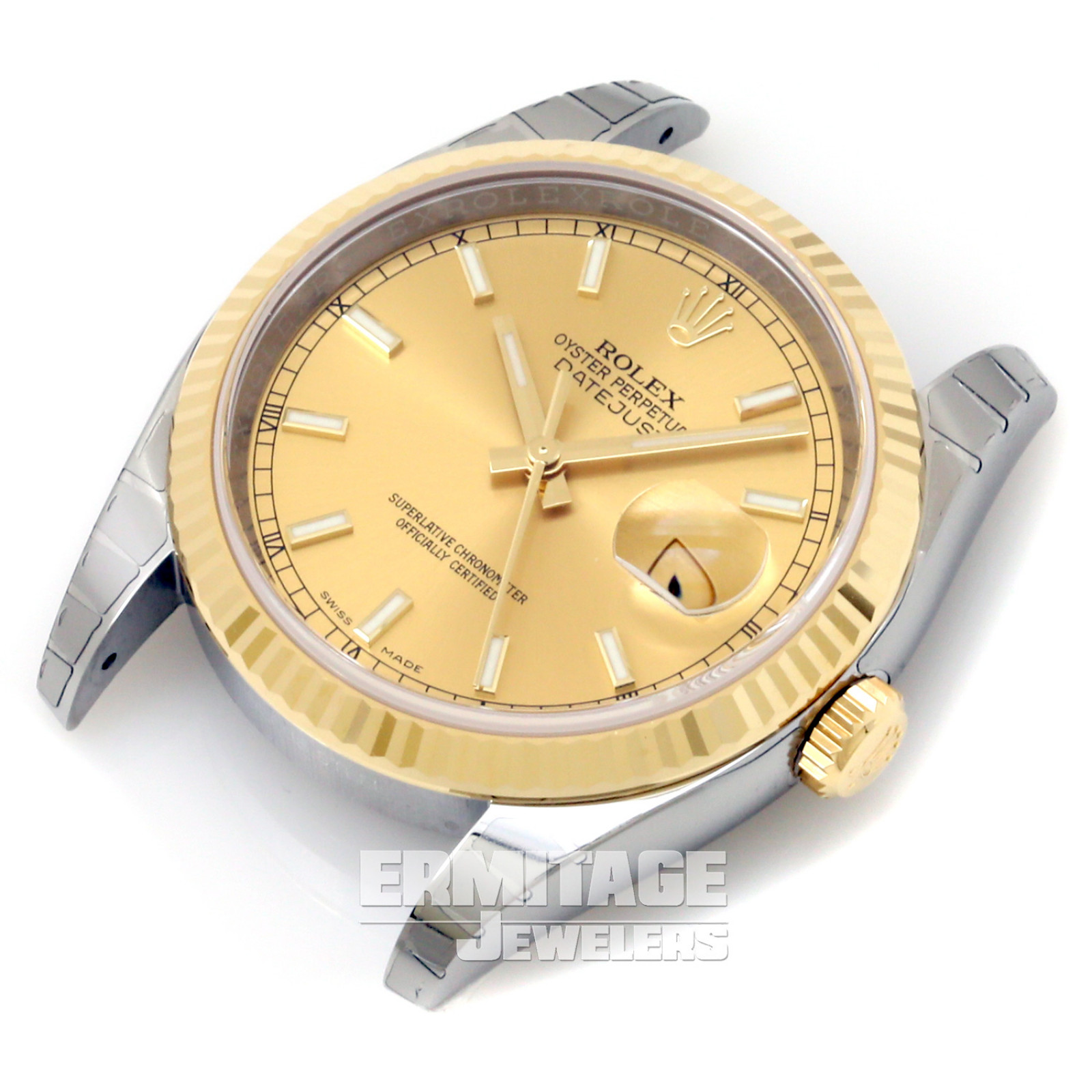 Used Rolex Datejust 116233 with Champagne Dial