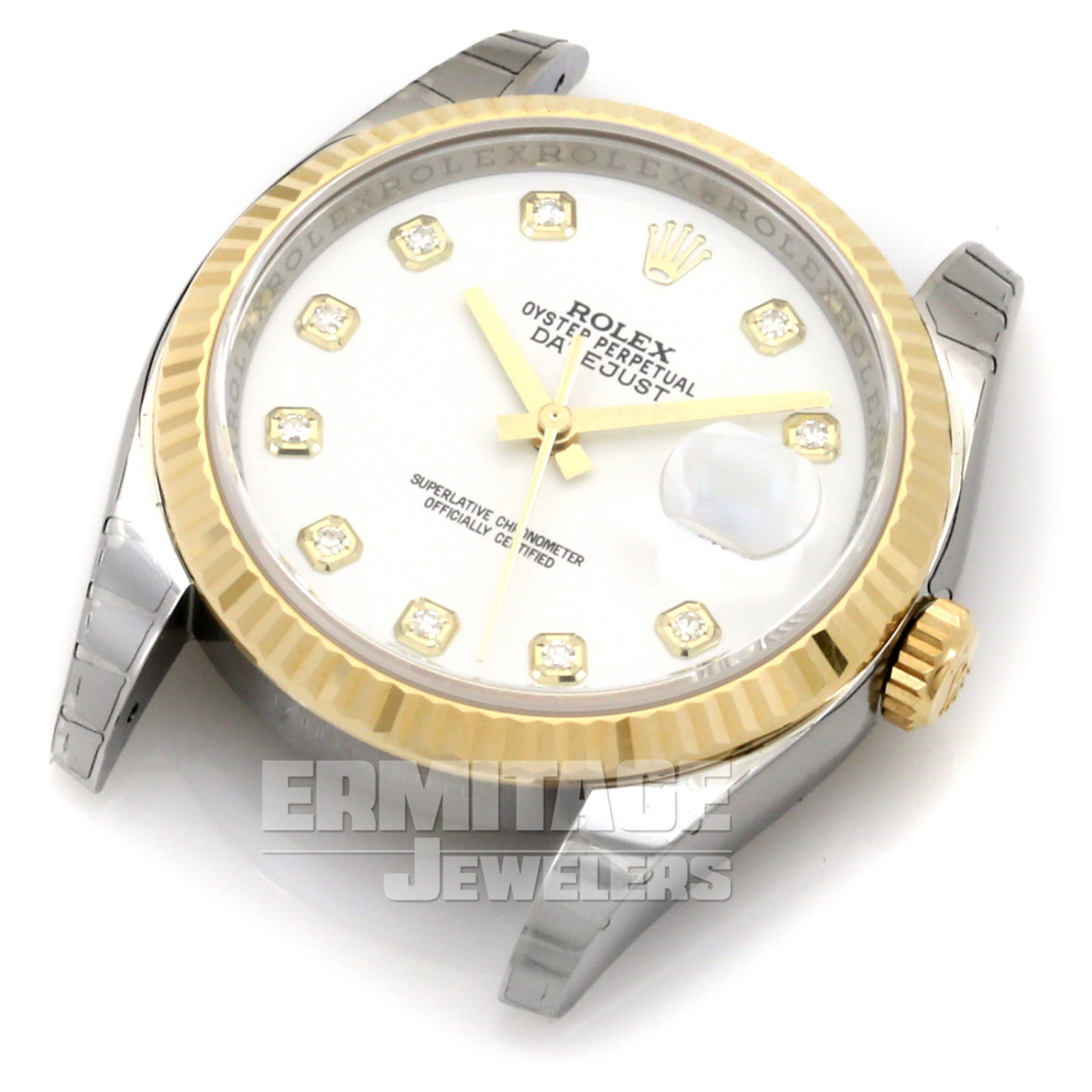 Rolex Datejust 116233 with White Dial