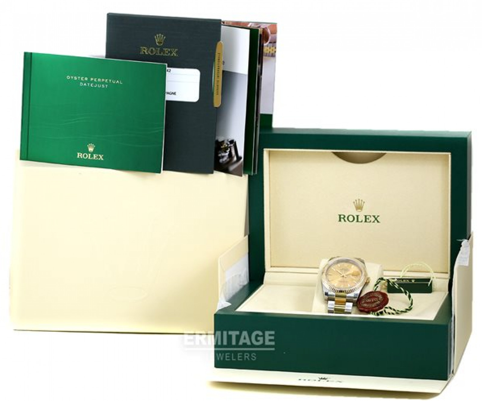 Used Rolex Datejust 116233 Oyster Gold & Steel 36 mm