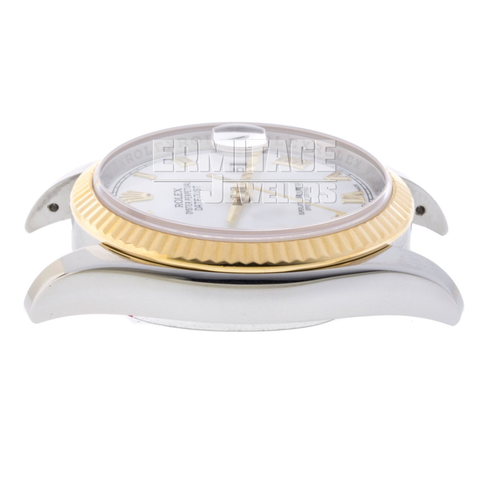 Gold & Steel on Oyster Rolex Datejust 116233 36 mm
