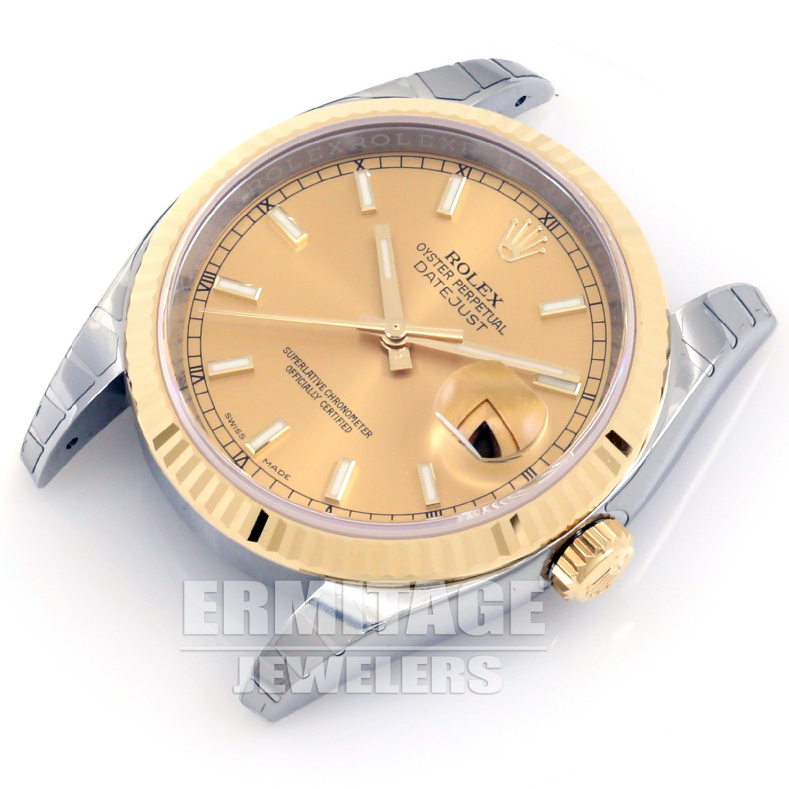 Pre-Owned Mens Rolex Datejust 116233 with Champagne Dial