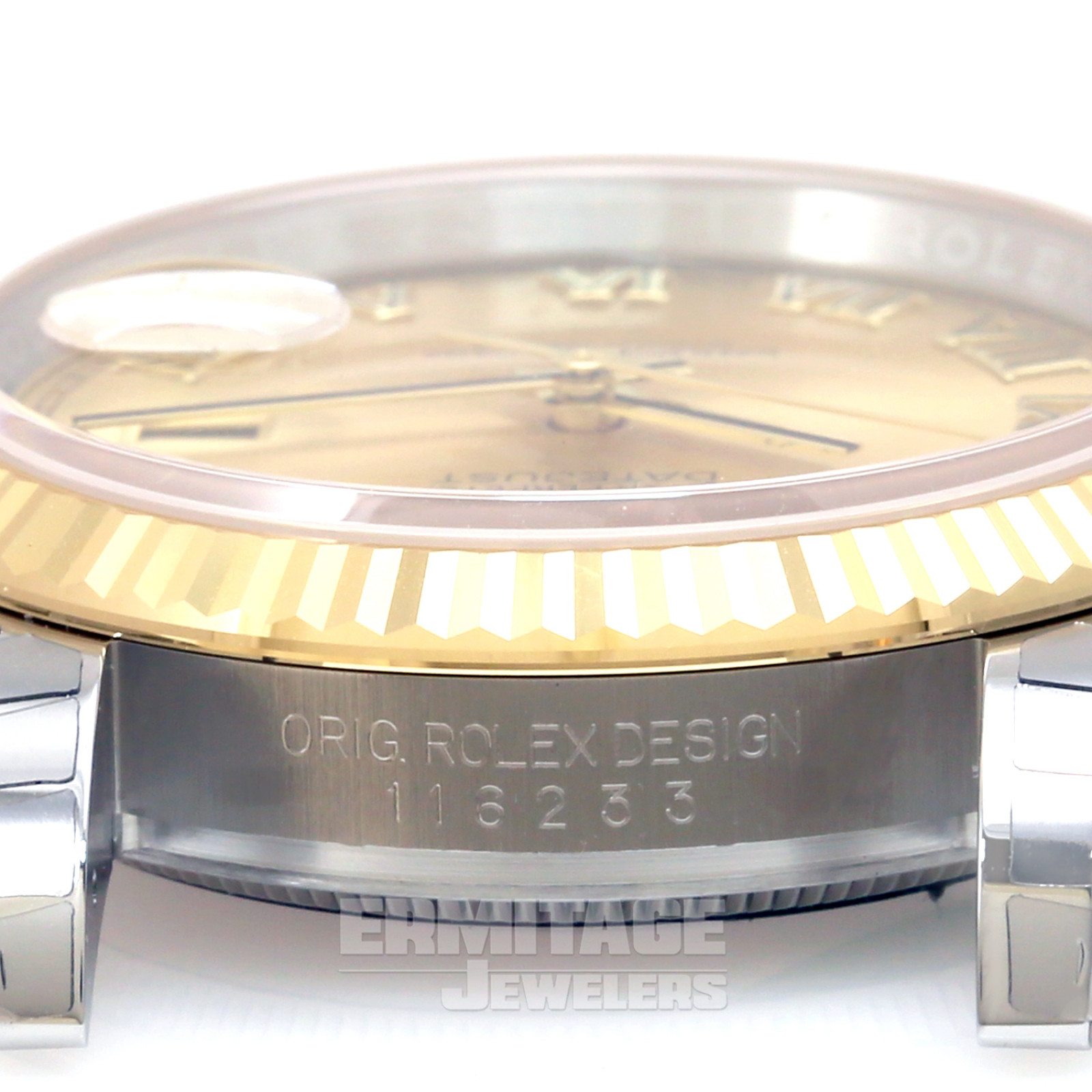 Rolex Datejust 116233 36 mm Gold & Steel on Oyster