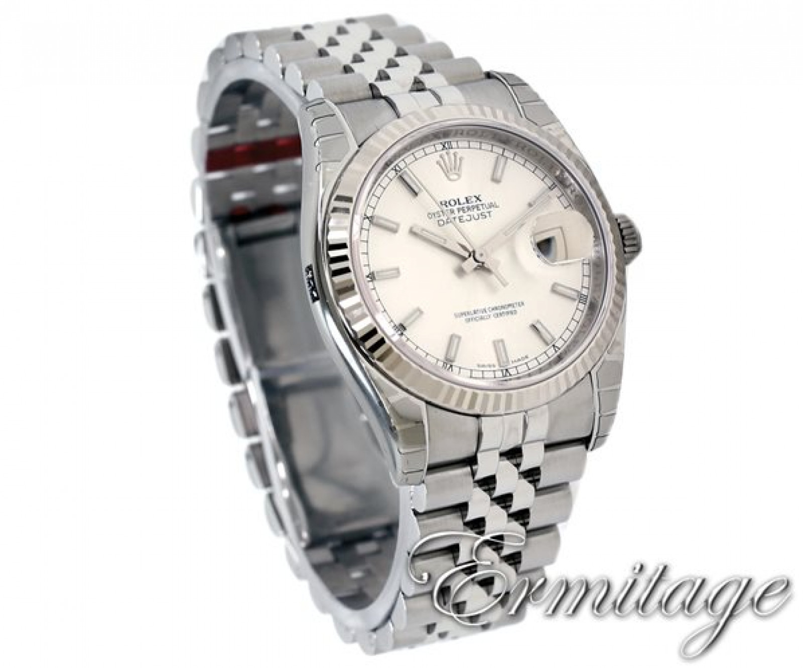 Pre-Owned Rolex Datejust 116234 18 kt White Gold