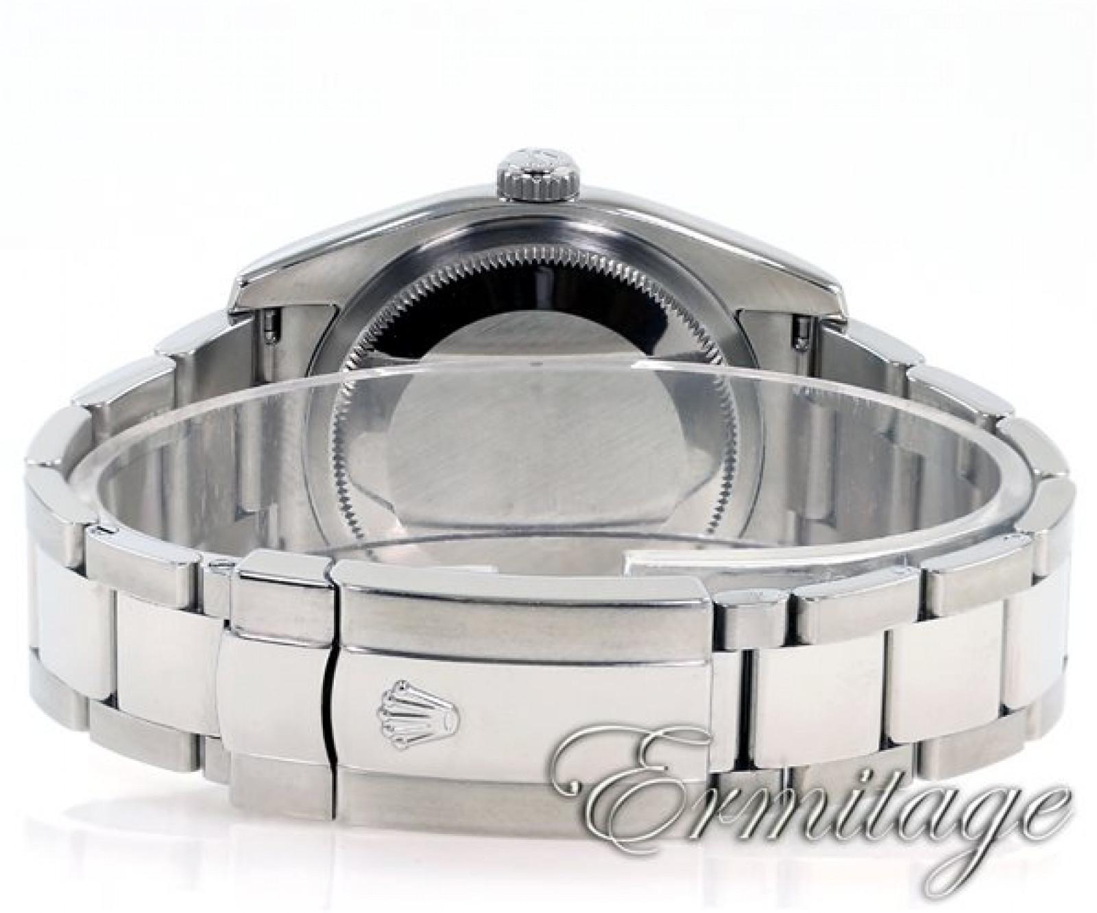 Rolex Datejust 116234 Steel 18 kt White Gold