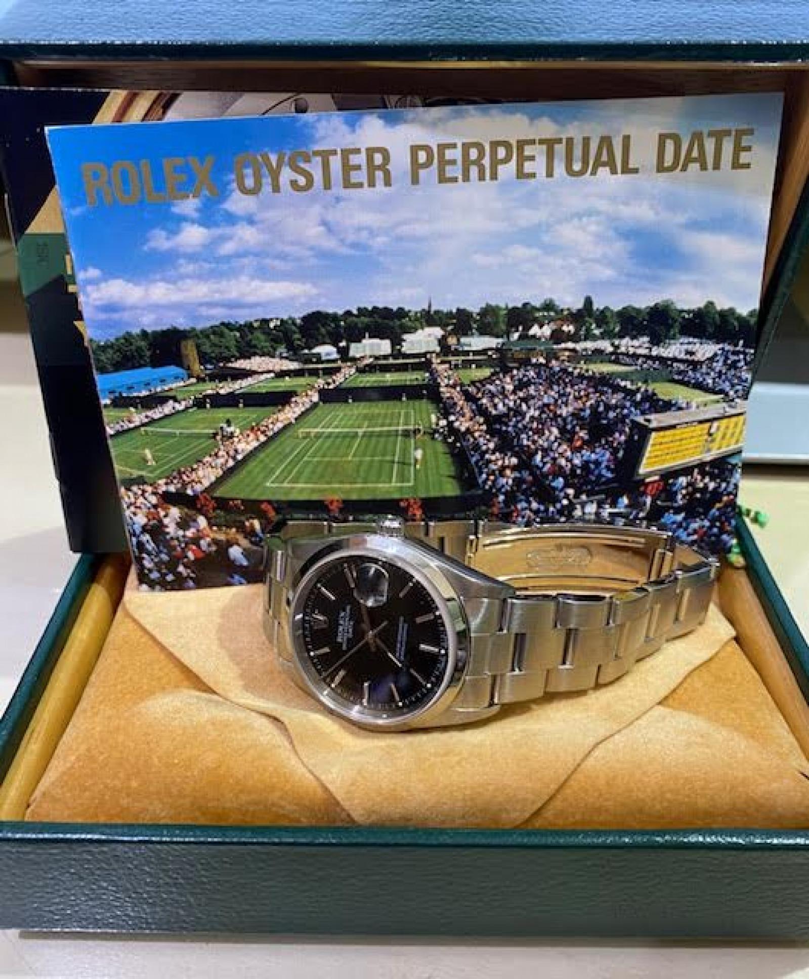 1998 Rolex Date Ref. 15200