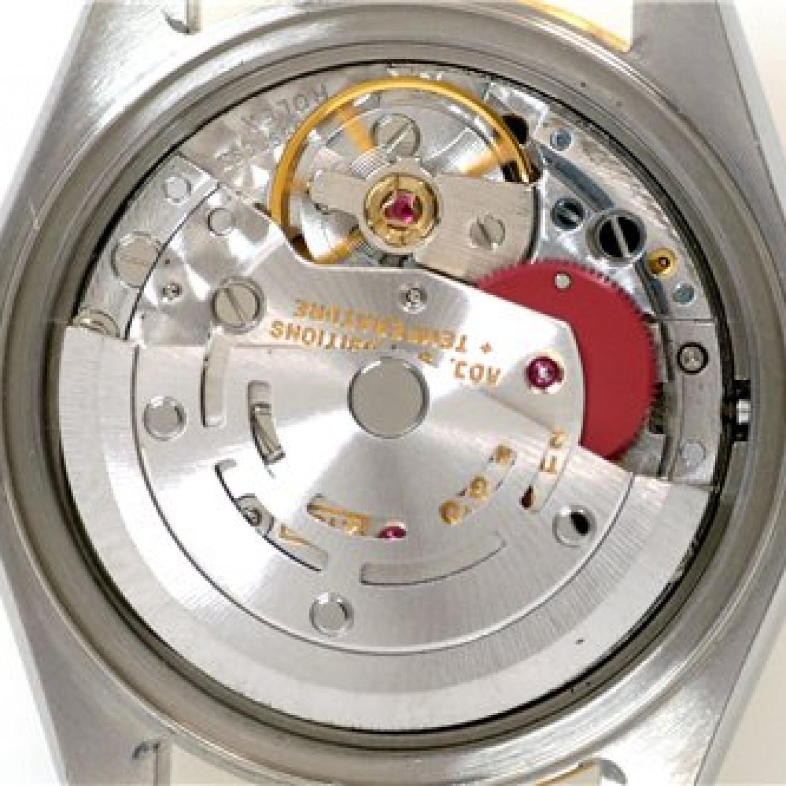 Rolex Datejust 69173 Gold & Steel Black