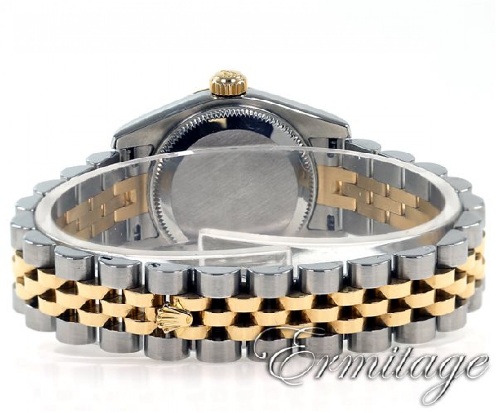 Rolex Datejust 179163 Gold & Steel with White Dial & Roman Markers