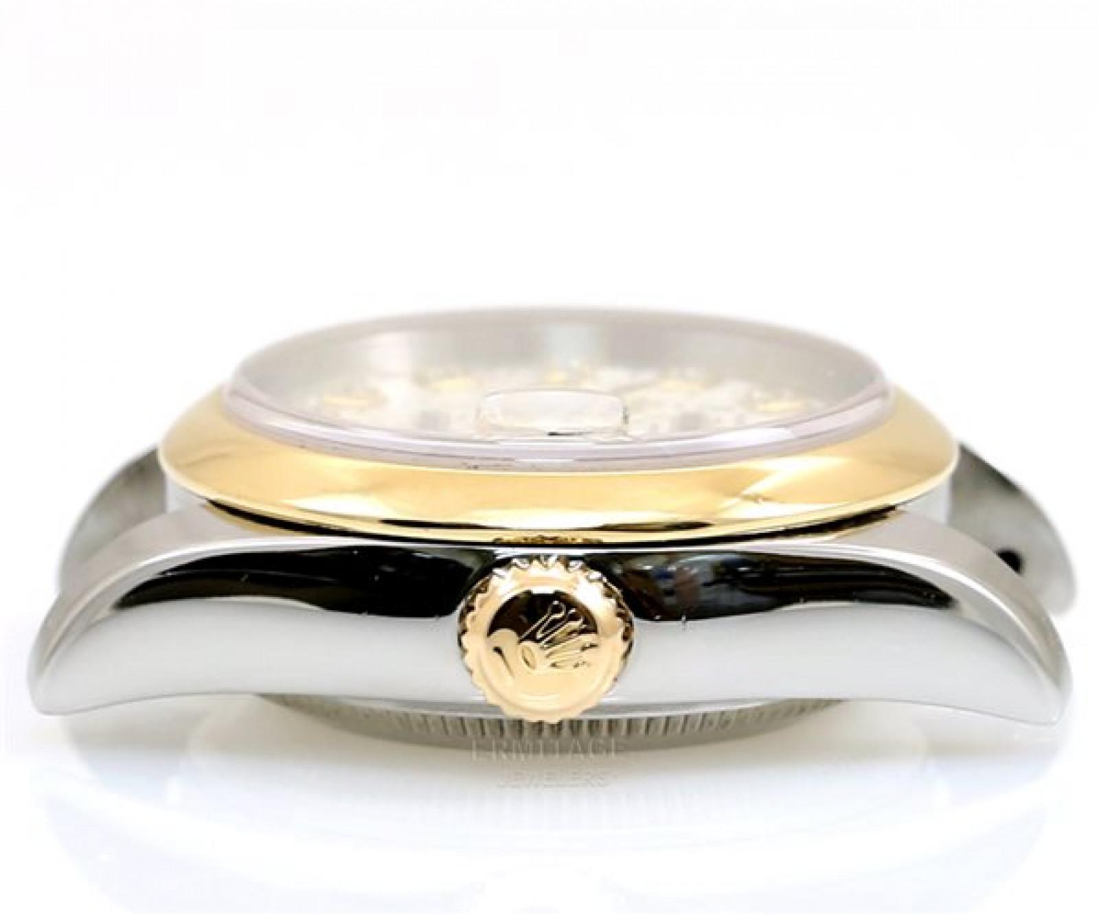 Silver Diamond Dial Rolex Datejust 179163