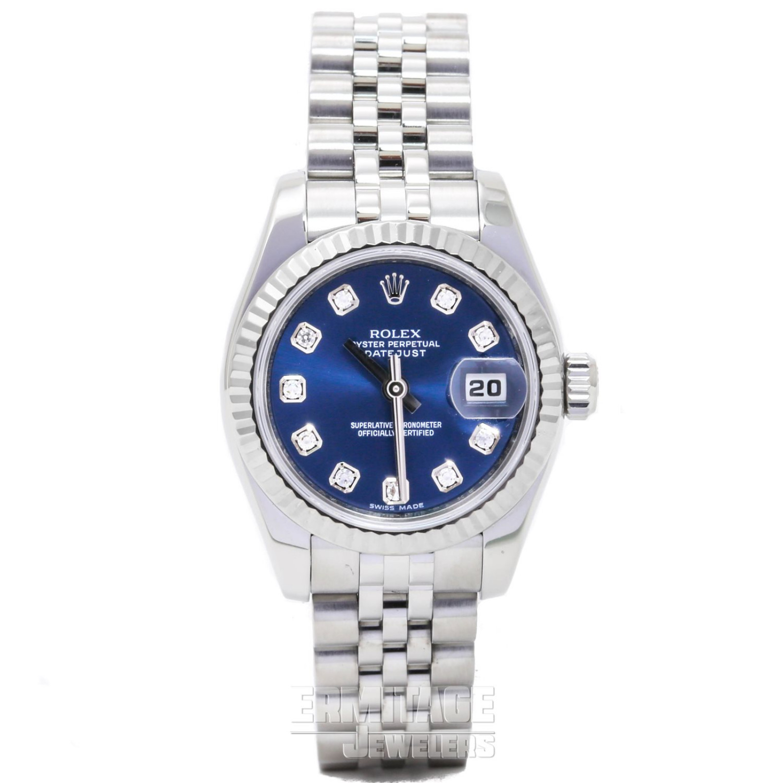 Rolex Datejust 179174 with Blue Dial