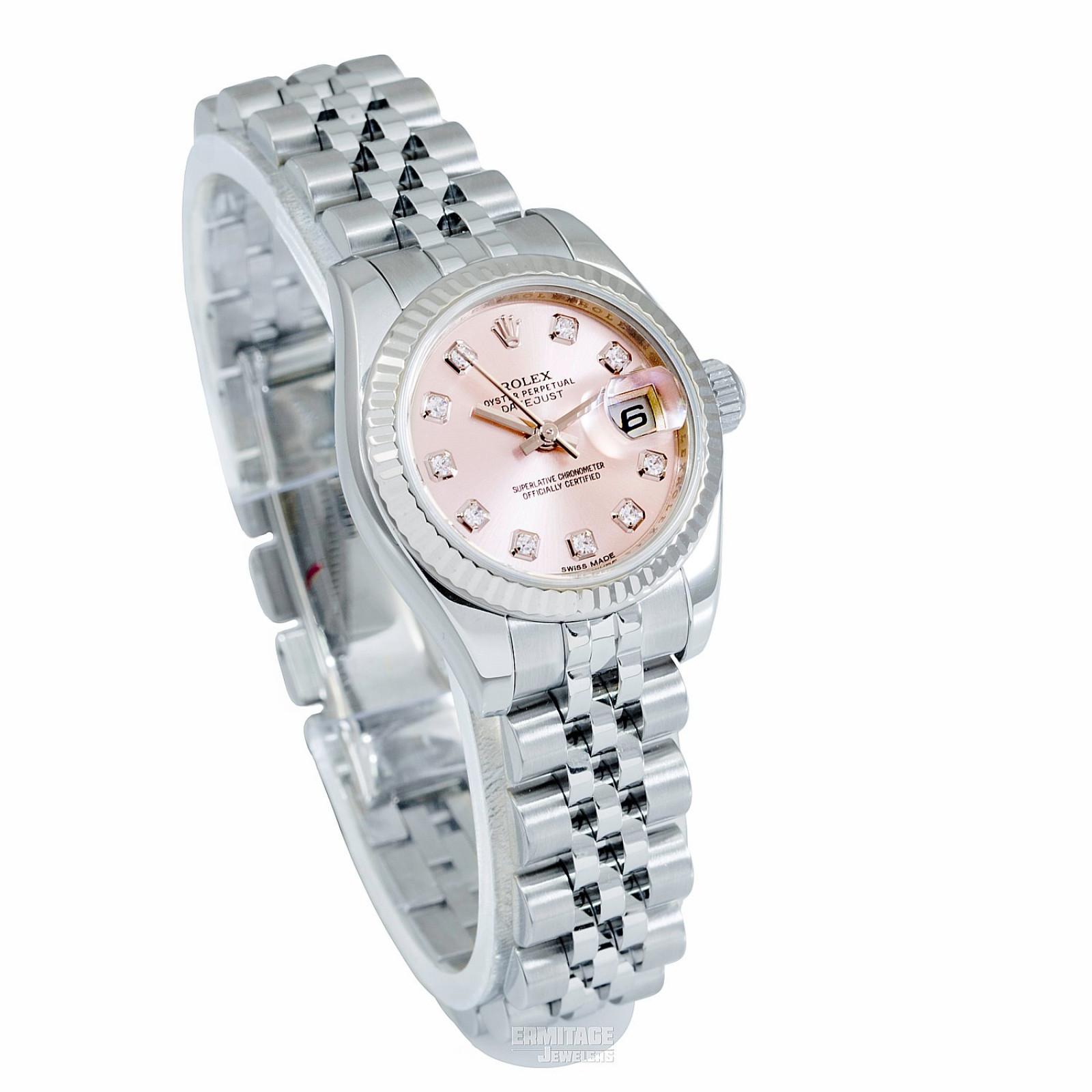 2016 Pink Rolex Datejust Ref. 179174