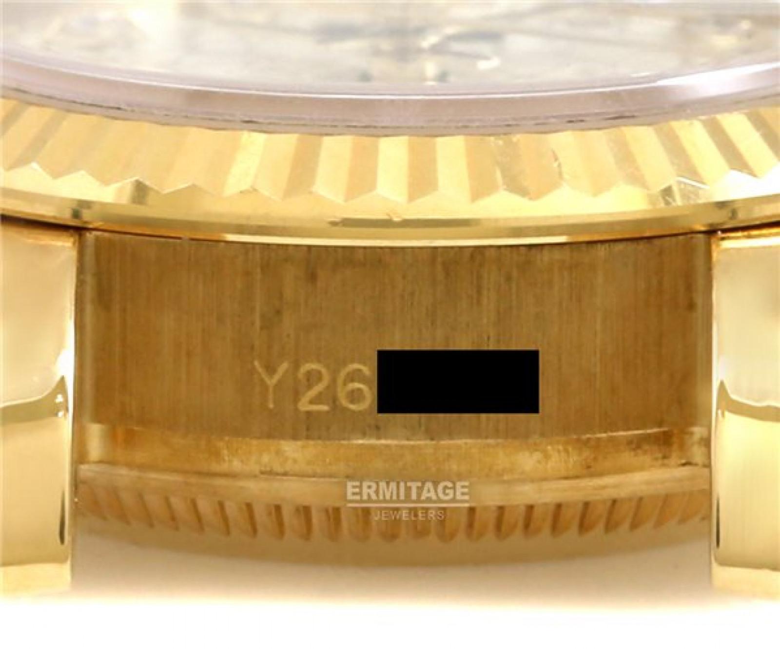 White Diamond Dial Rolex Datejust 179178