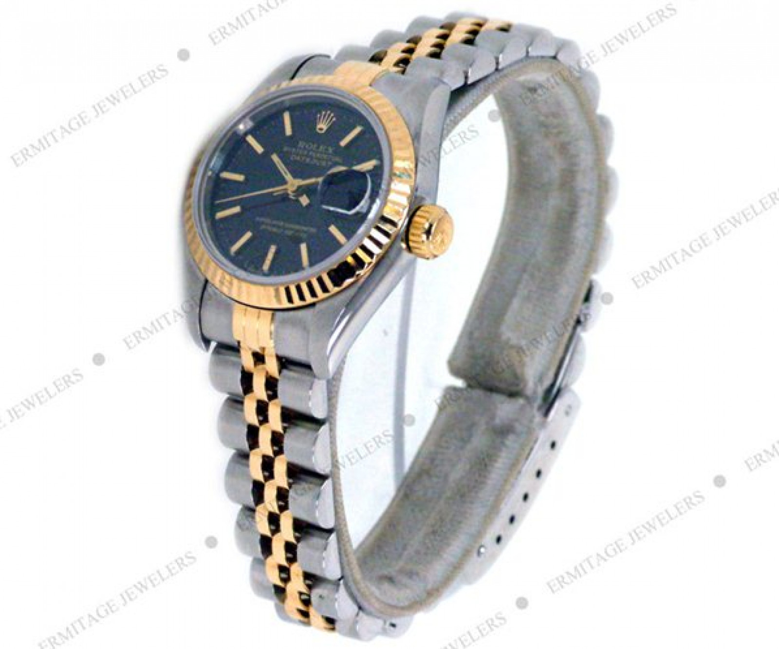 Authentic Used Rolex Datejust Ref 69173 Gold & Steel