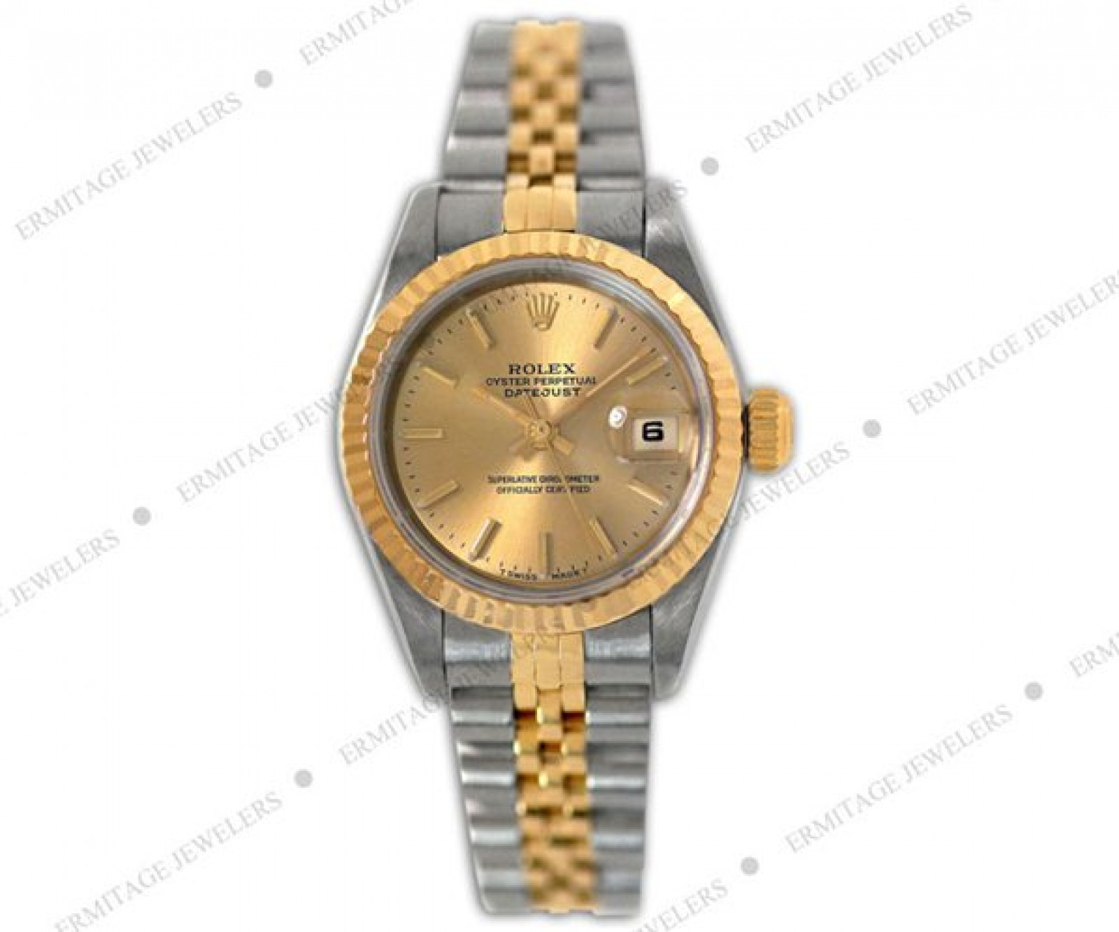 Sell Gold & Steel Rolex Datejust 69173 Year 1996