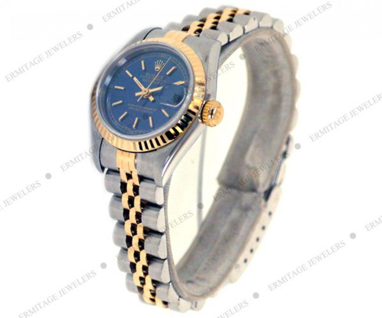 Pre-Owned Rolex Datejust 69173 with Blue Dial