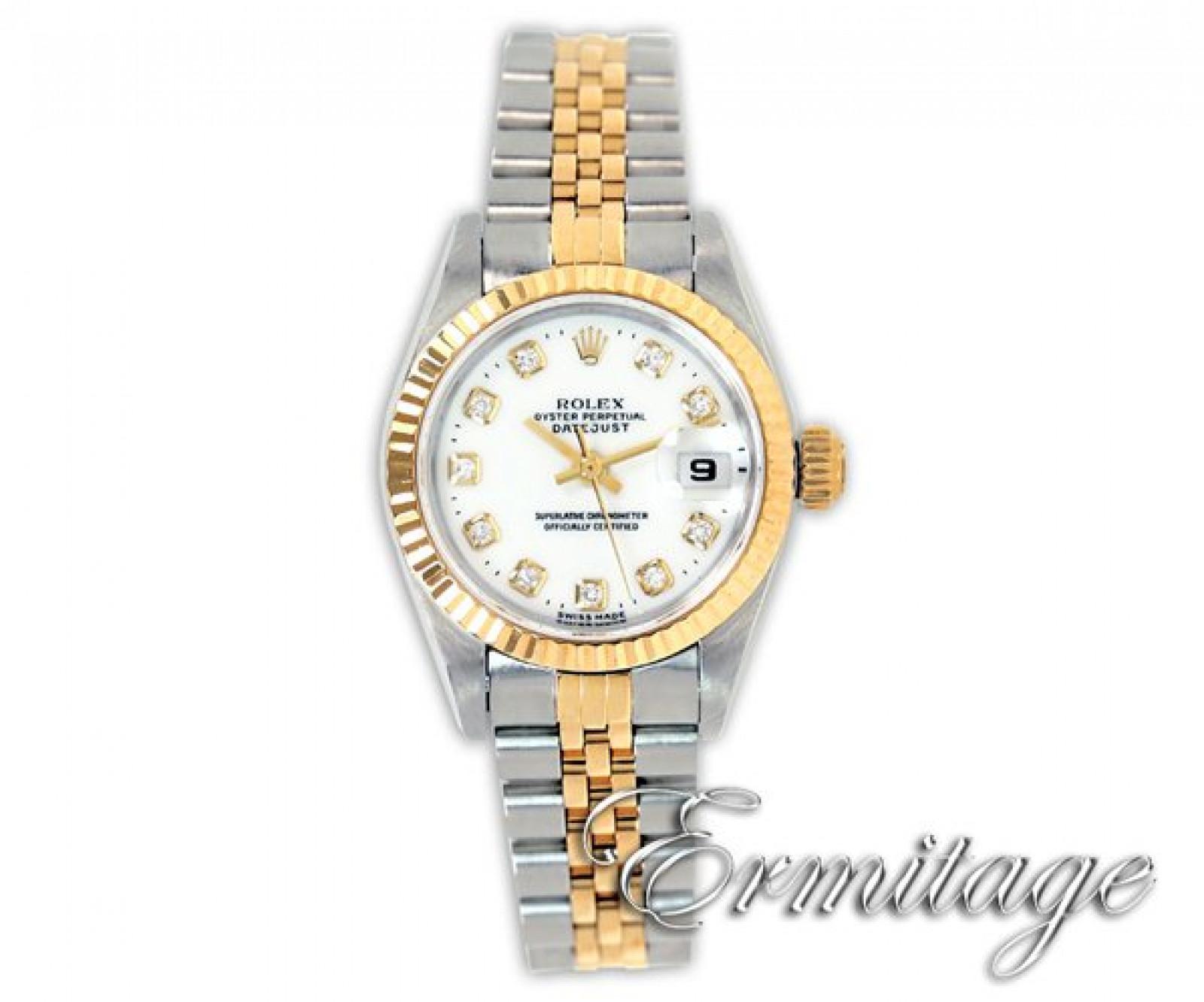 White Diamond Dial Rolex Datejust 69173
