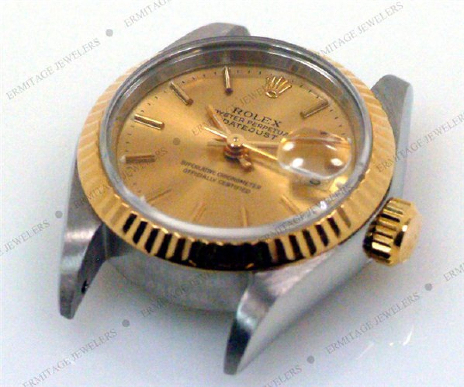 Pre-Owned Gold & Steel Rolex Datejust 69173 Year 1994