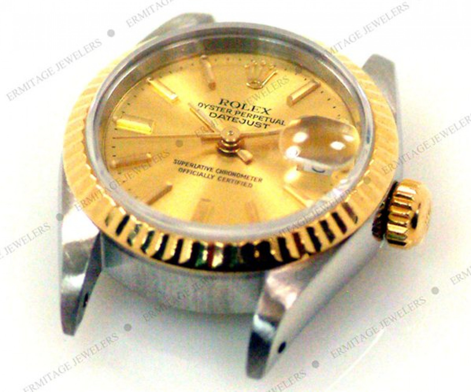Pre-Owned Gold & Steel Rolex Datejust 69173 Year 1995