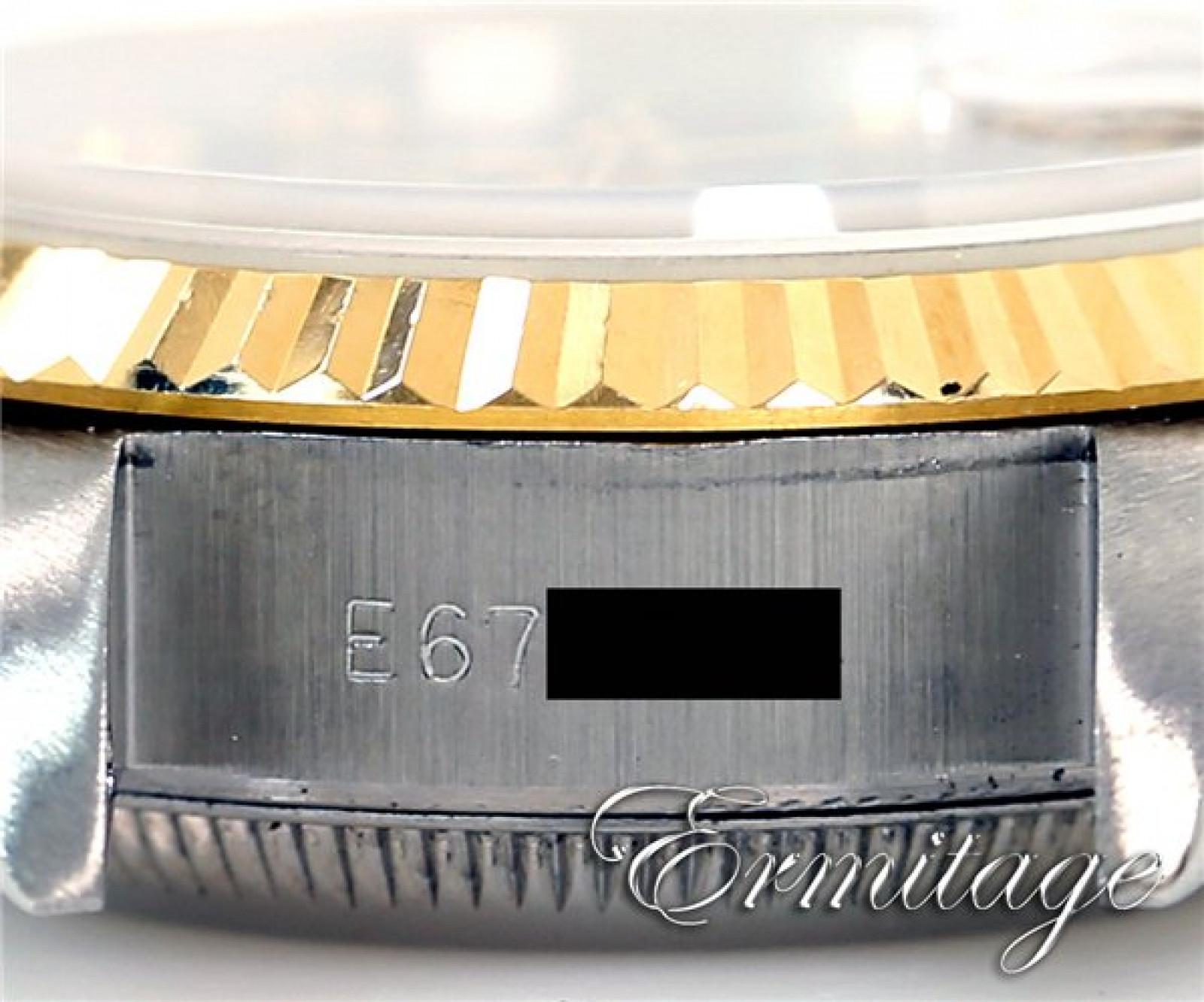 Rolex Datejust 69173 Gold & Steel with Diamonds