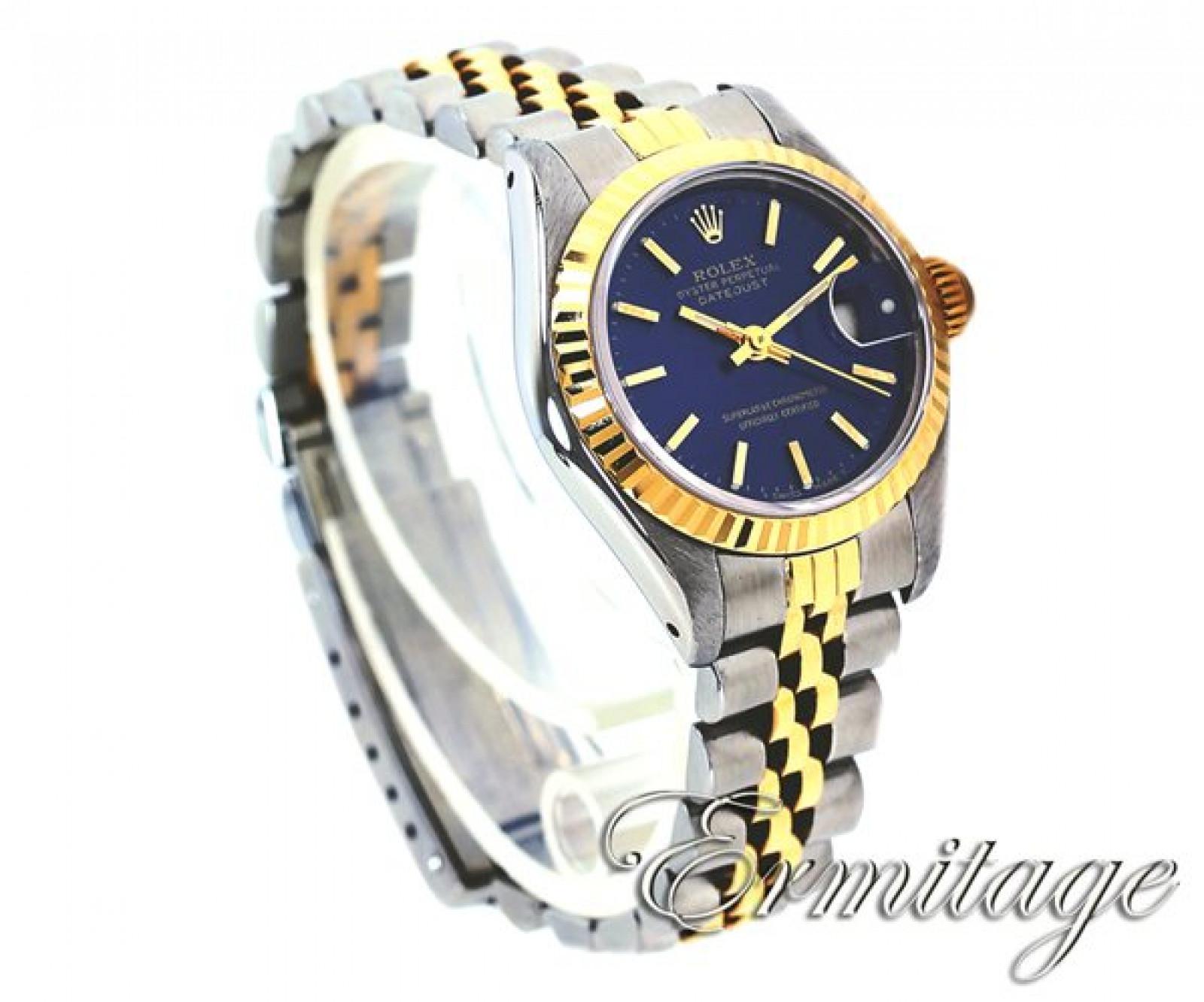 Women's Rolex Datejust 69173 Gold & Steel