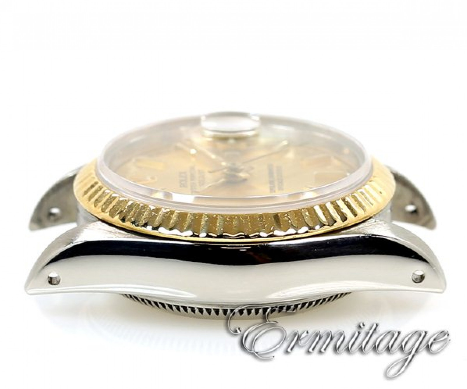 Pre-Owned Gold & Steel Rolex Datejust 69173 Year 1983