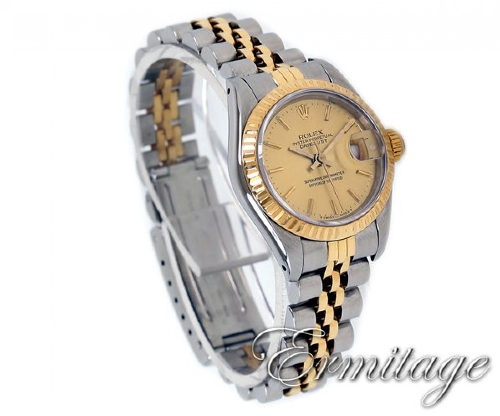 Sell Gold & Steel Rolex Datejust 69173 Year 1990