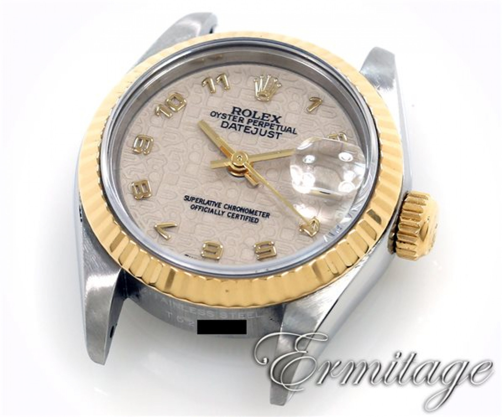 Used Gold & Steel Rolex Oyster Perpetual Datejust 69173