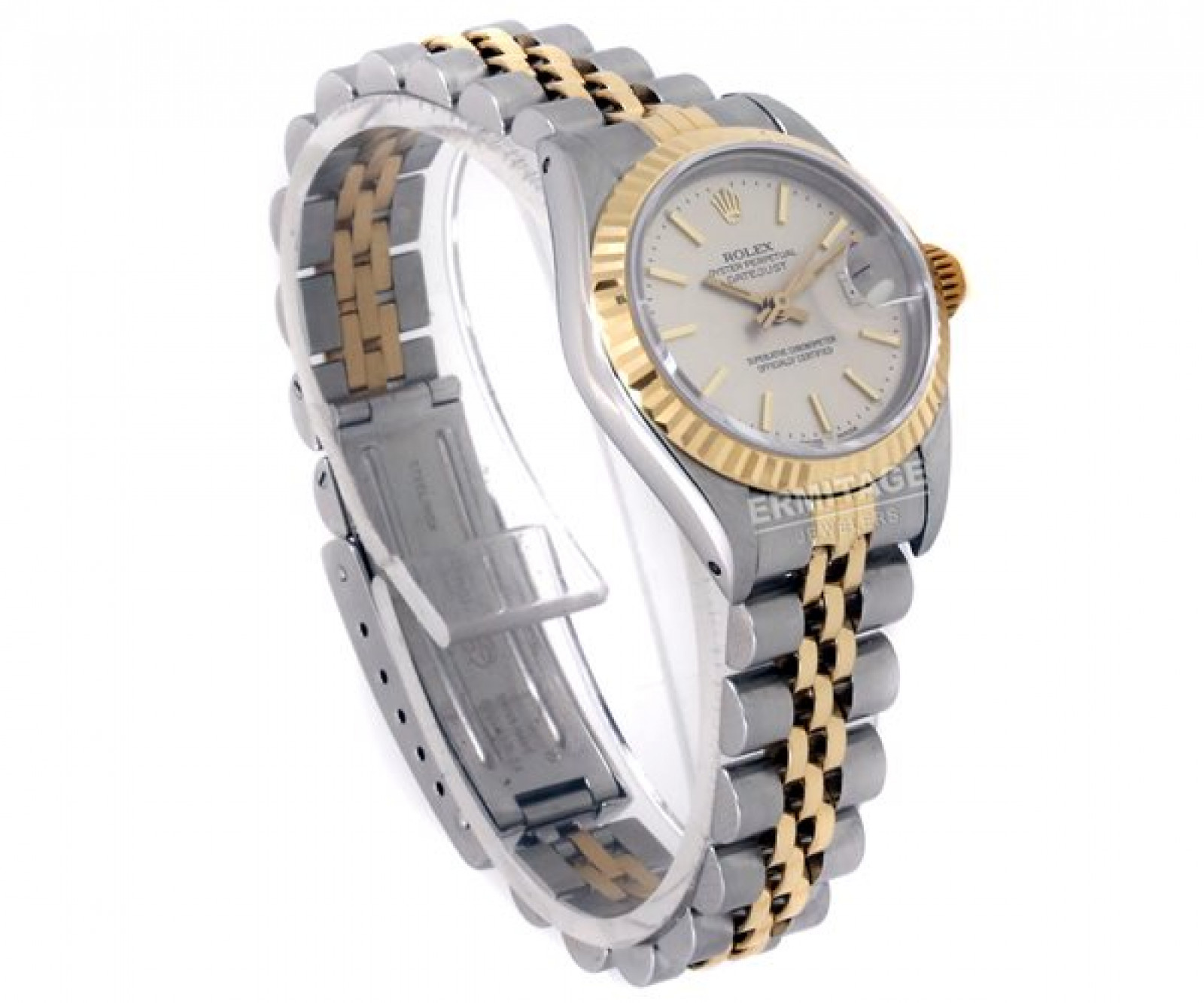 Rolex Datejust 69173 Gold & Steel With Silver Dial