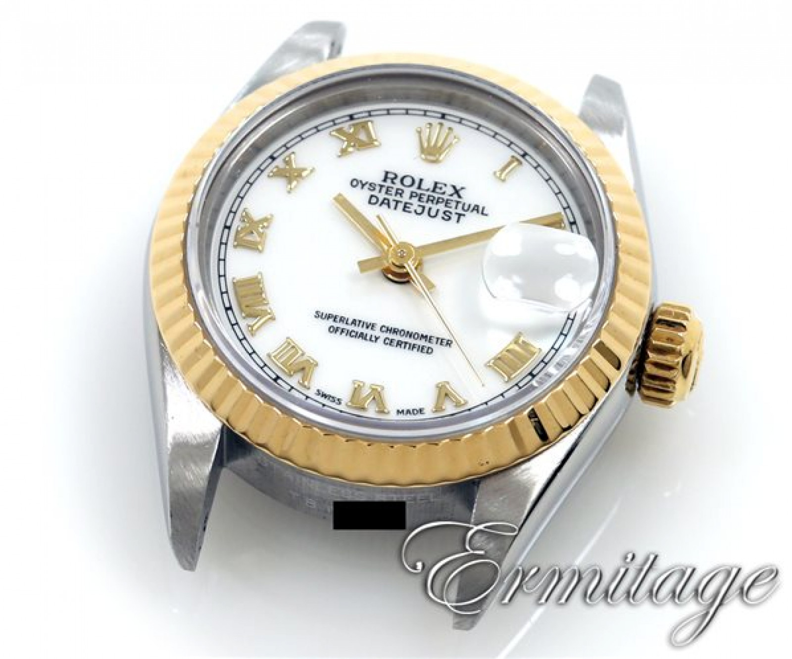 Rolex Datejust 69173 Gold & Steel White