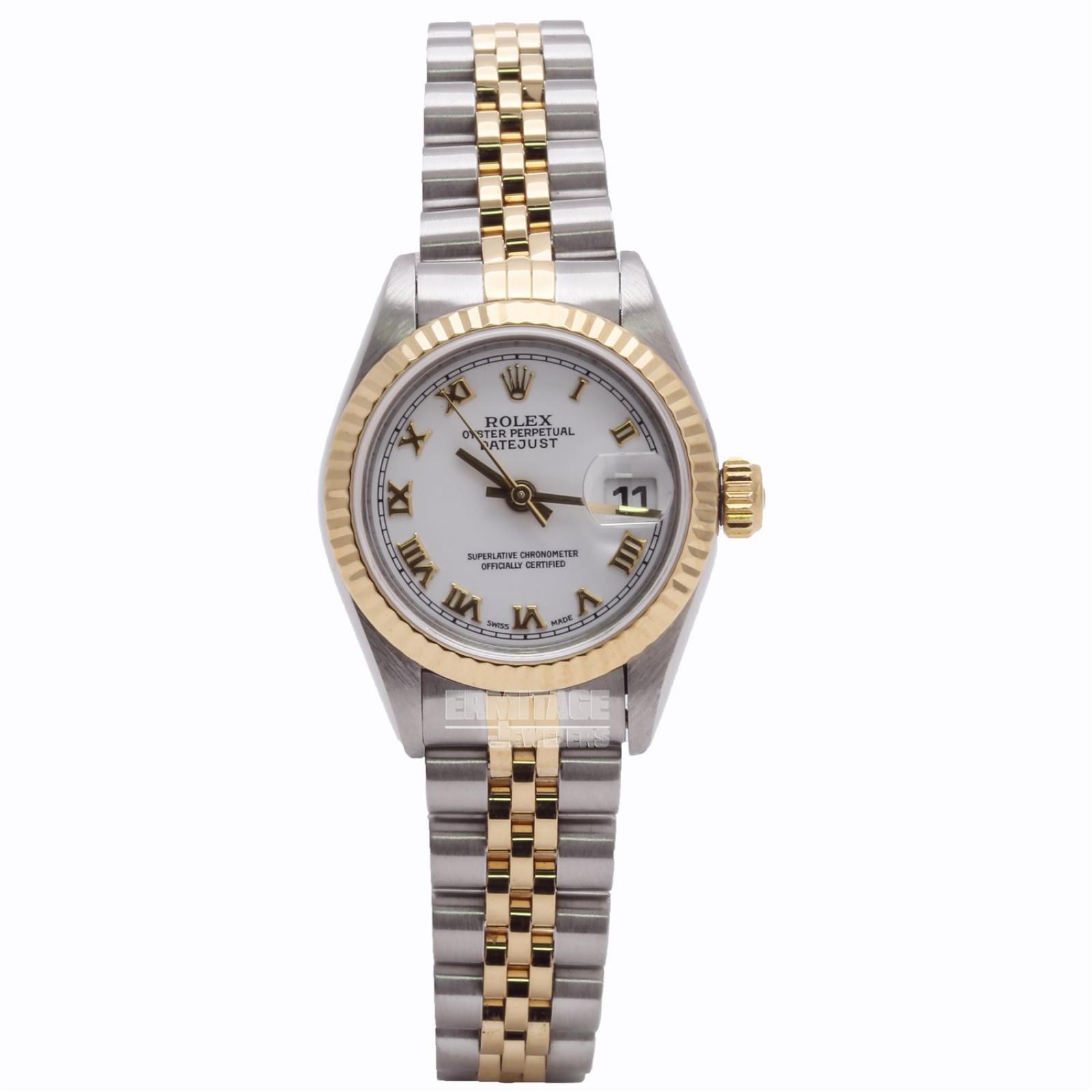 Rolex Ladies Datejust Watch 69173 5066