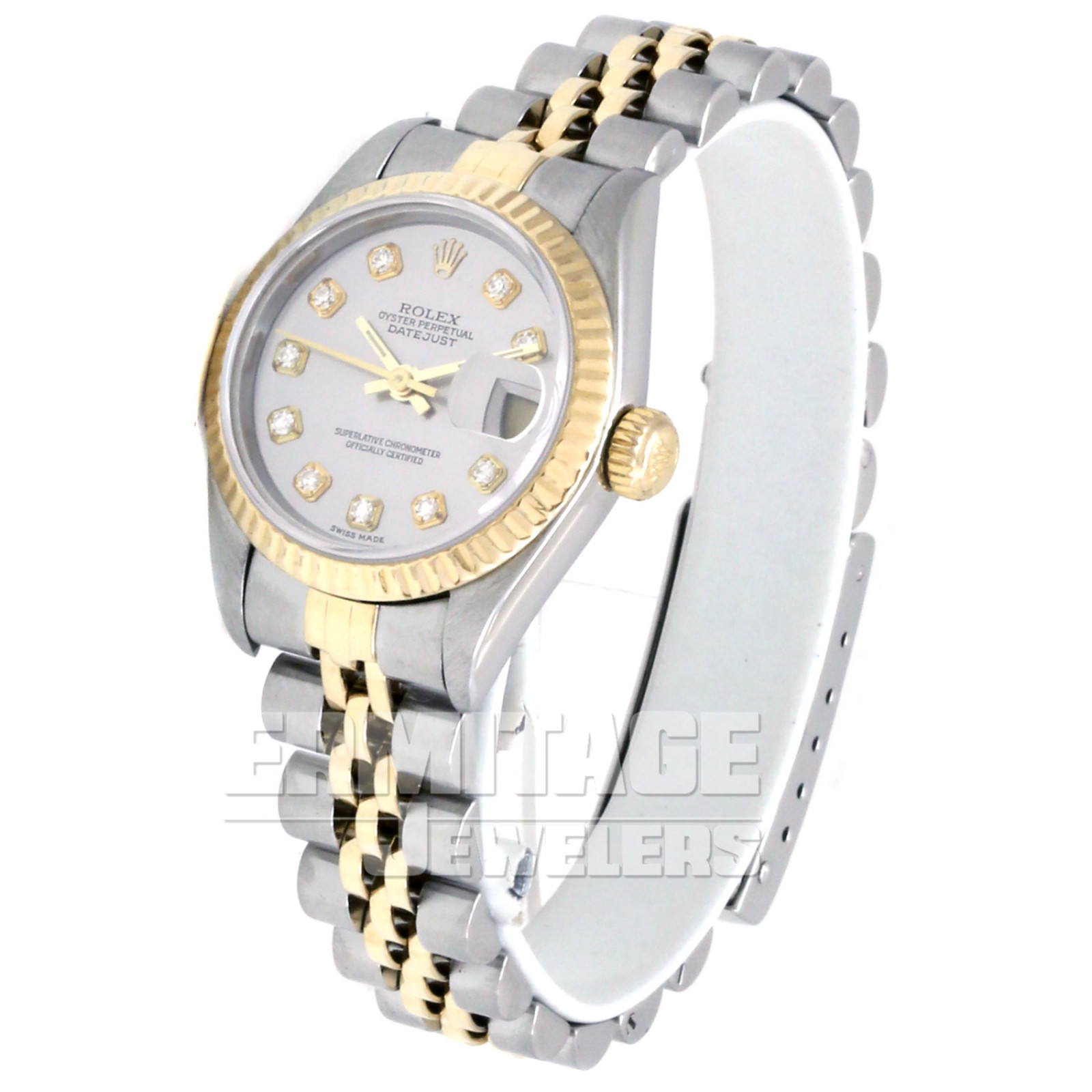 Ladies Rolex Datejust 69173 with Steel Dial