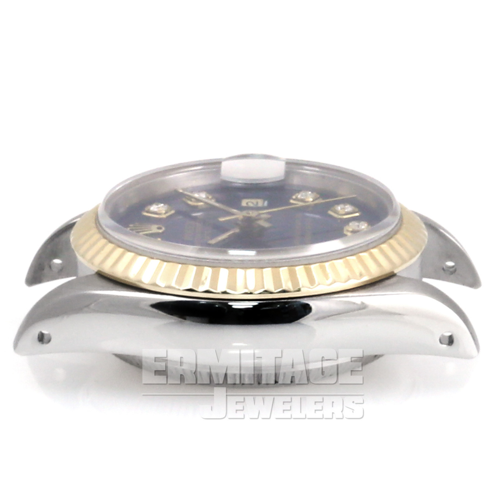 Ladies Rolex Datejust 69173 with Blue Dial