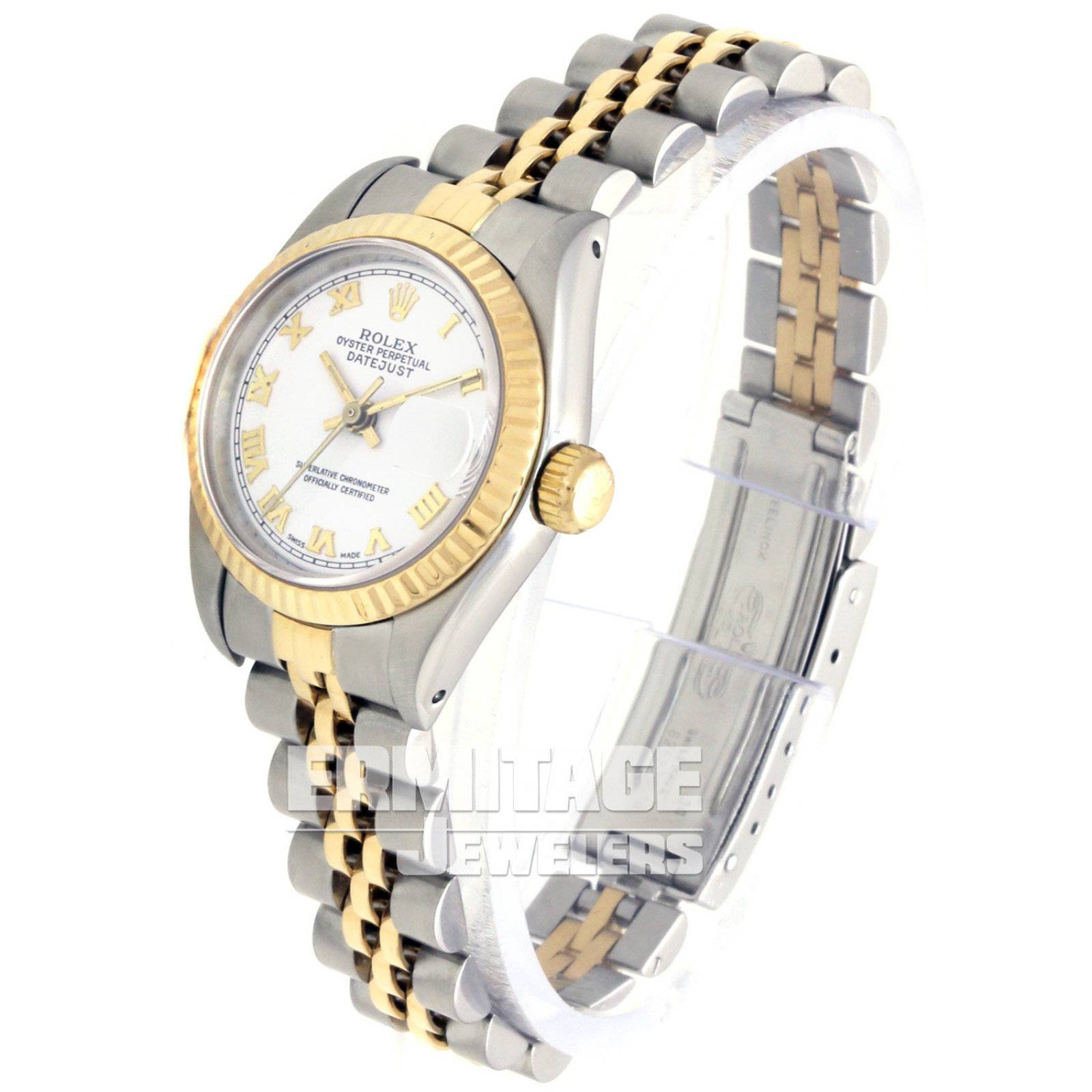Rolex Datejust 69173 with White Dial