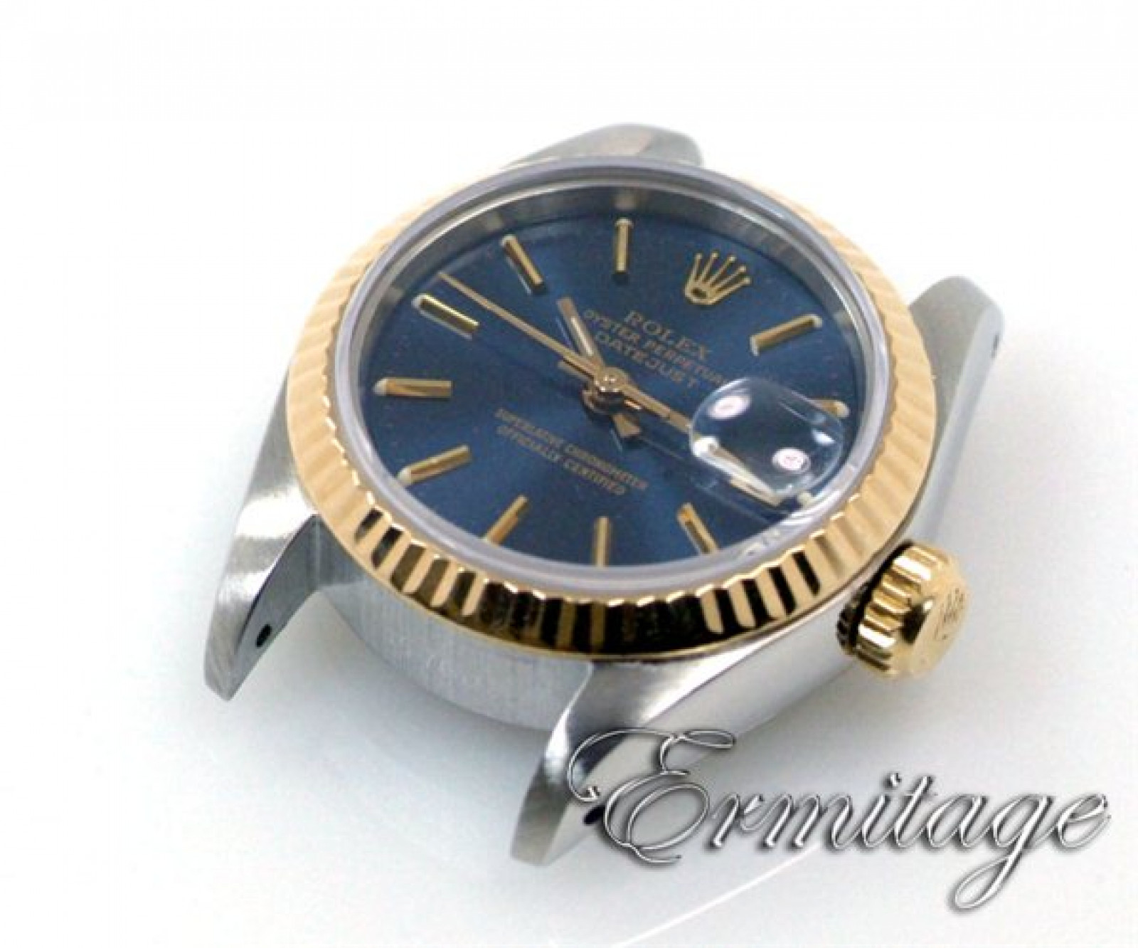 Used Authentic Rolex Datejust 69173 Gold & Steel