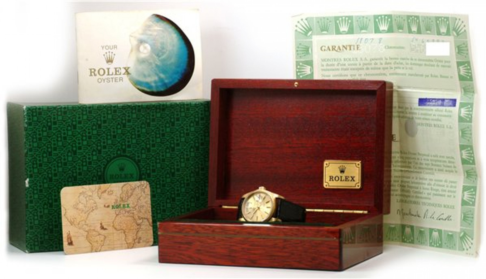Rolex Day-Date 18078 Gold Champagne 1978