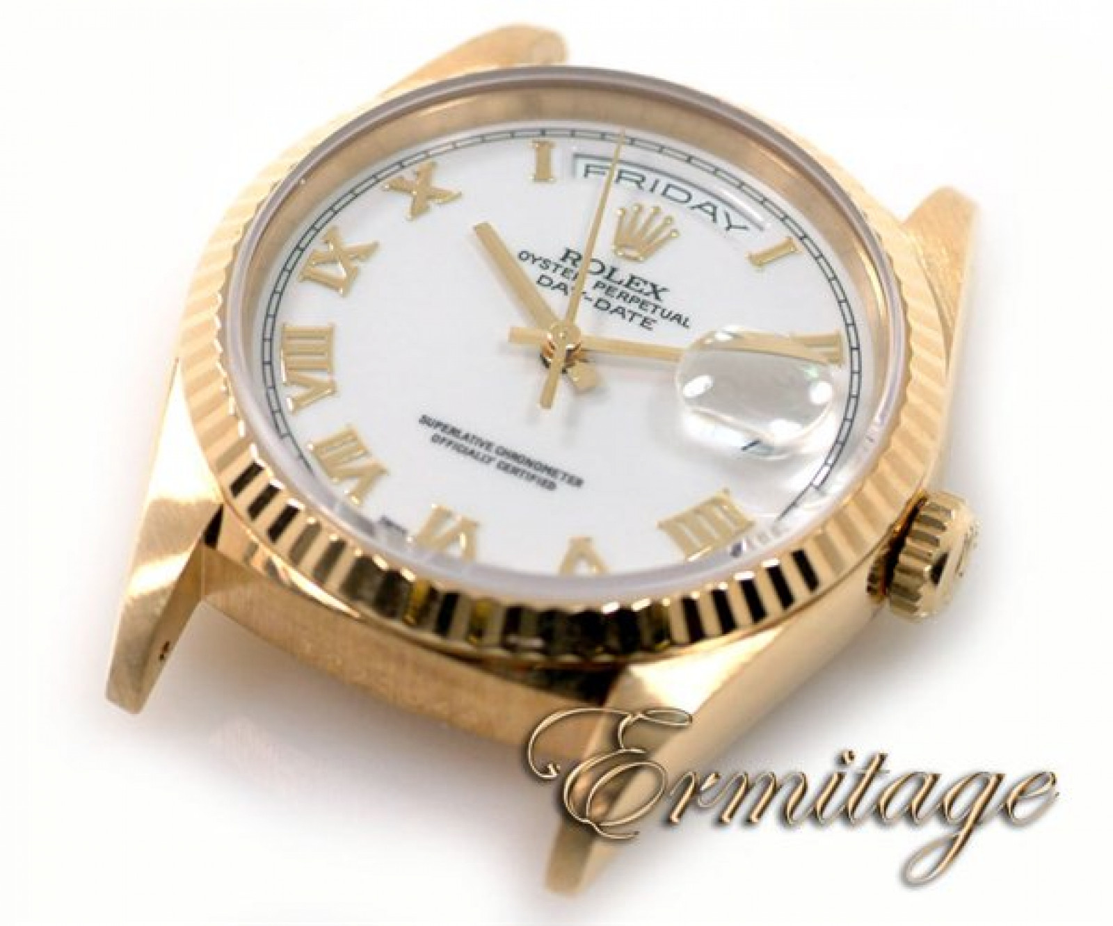 President Rolex Day-Date 18238 Gold White 1996