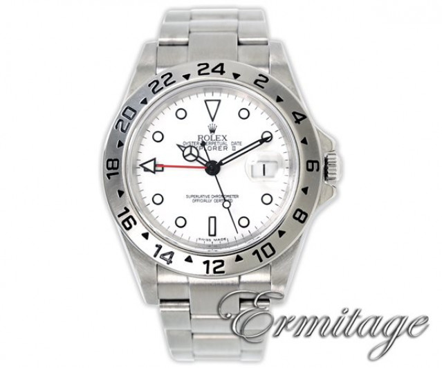 2004 Rolex Explorer II Ref. 16570 40 mm White